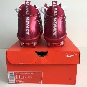Nike Alpha Menace Pro Mid Football Cleats Size 8.5